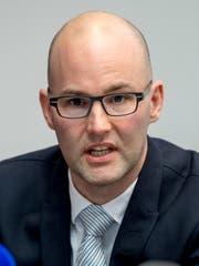 Stephan Walder, Co-Leiter des Kompetenzzentrums Cyber-Crime des Kantons Zürich. (Bild: Nick Soland/Keystone)