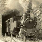 Die Dampflokomotive HG 3/3 1068 soll wieder instand gestellt werden. (Bild: PD)