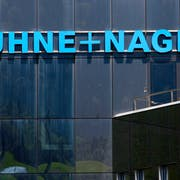 Hauptsitz der Logistikgruppe Kuehne und Nagel in Schindellegi. (Bild: Alessandro Della Bella/Keystone)