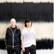 Renate Lorenz (l.) und Pauline Boudry bespielen in Venedig den Schweizer Pavillon. (Bild: KEY)