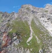 Das Gebiet Gamsluggen bei Seewis. (Bild Kantonspolizei GR)
