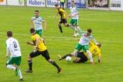 Die Spieler des SC Brühl überzeugten auch im letzten Heimspiel der Saison. Sie sind jetzt seit fünf Spielen ungeschlagen. (Bild: PD - 25. Mai 2019)
