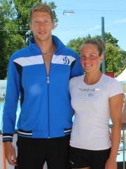 Zwei Profis: Maxim Lobanovsky und Sasha Touretski. (Bild: Manuela Olgiati)