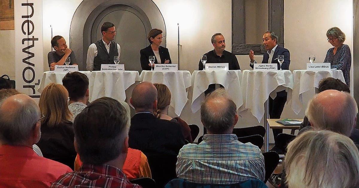 Schwule müssen weiter kämpfen: In Wil diskutierten Politikerinnen und Politiker über Gleichberechtigung | St.Galler Tagblatt