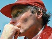 Abschied von einem grossen Champion: Niki Lauda. (Bild: Paul-Henri Cahier/Getty, Monza, 8. September 1985)