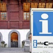 Die Zukunft des Infocenters von Arbon Tourismus in der Altstadt ist ungewiss. (Bild: Max Eichenberger).