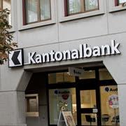 Urner Kantonalbank, UKB. Im Bild der Hauptsitz in Altdorf. Bild: Corinne Glanzmann (Altdorf, 18. Oktober 2018)