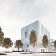 So soll das Probenhaus des Luzerner Sinfonieorchesters dereinst aussehen. (Bild: PD)