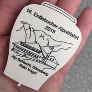Heuer ziert die Alp Schlacht von Sörenberg das Festabzeichen. (Bild: David von Moos)