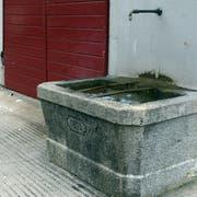 Ein Brunnen in Buochs (Bild: Urs Flüeler)