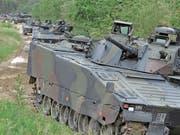 Das Budget für die Schweizer Armee steigt in den kommenden Jahren. Das ist beschlossen. (Bild: Reto Martin (Bürglen, 14. Mai 2018))