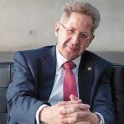 Der frühere Chef des deutschen Verfassungsschutzes Hans-Georg Maassen. Bild: Hayoung Jeon/EPA (Berlin, 12. September 2018)