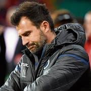 Der verhaftete Ivan Leko ist seit 2017 als Trainer des FC Brügge tätig. (Bild: Philippe Crochet/Getty (Liege, 7. Oktober 2018))