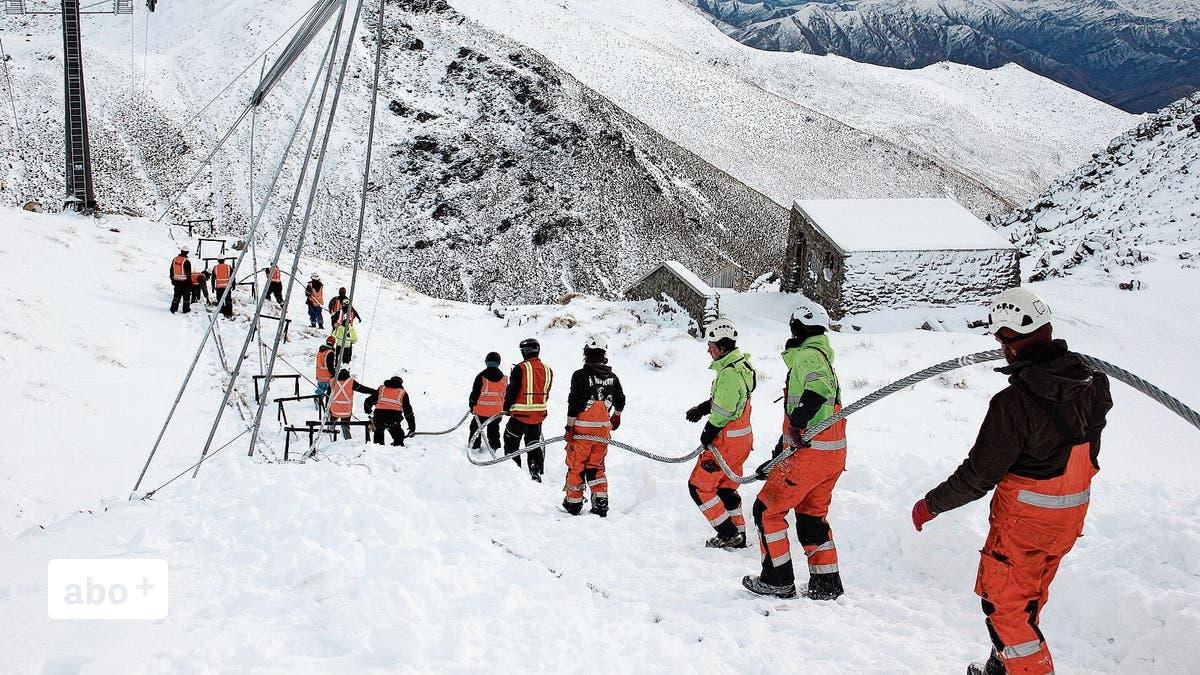 Er verbindet Stahlseile so, dass Seilbahnen fahren können: Ein Ostschweizer reist während der Coronakrise nach Neuseeland – als einer von wenigen   St.Galler Tagblatt