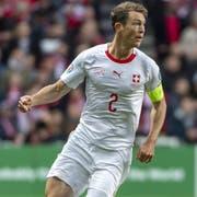 Captain Stephan Lichtsteiner spielte erstmals seit über einem halben Jahr wieder für die Nationalmannschaft. (Bild: Georgios Kefalas/KEY).