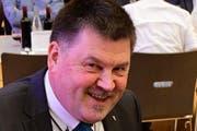 Bürgerpräsident Adrian Heer. (Bild Werner Lenzin)