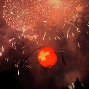 1.-August-Fans müssen dieses Jahr nicht auf Feuerwerk verzichten. (Bild: Salvatore Di Nolfi/Keystone)