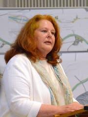 Die Wigoltinger Gemeindepräsidentin Sonja Wiesmann setzt sich vergeblich für das Hochwasserschutzprojekt Chemenbach ein. (Bild: Christoph Heer)