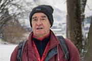 Urs Petermann von der Ornithologischen Gesellschaft der Stadt Luzern. Bild: Boris Bürgisser (15. Januar 2016).