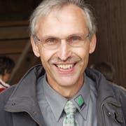 Ruedi Huber während seiner Zeit als Berufsschullehrer im Arenenberg. (Bild: Ida Sandl (4.10.2005))