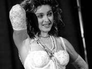 Madonna an den MTV Video Awards im Sept. 14, 1984 (AP Photo)