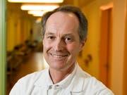 Roger Lauener, Chefarzt Pädiatrie am Ostschweizer Kinderspital. (Bild: Urs Bucher)
