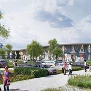 Der Gestaltungsplan zum Outlet-Center wurde abgelehnt. Dagegen haben die beiden betroffenen Gemeinden Beschwerde eingereicht. (Bild: PD)