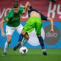 1:4-Niederlage im Testspiel gegen Stuttgart: Cedric Itten ei ...