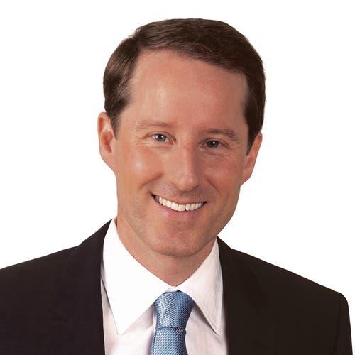 Zuger Nationalrat Thomas Aeschi, seit 2011, SVP, wiedergewählt