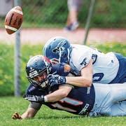 Die St.Gallen Bears schlossen die Saison in der Liga B auf dem zweitletzten Rang ab. (Bild: Michel Canonica)