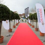 Für einmal wurde der rote Teppich nicht für die Politik, sondern ganz besonders für die Thurgauer Gewerbler ausgerollt.