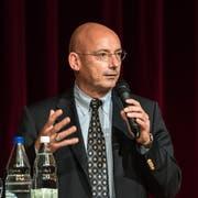 Gesellschaftsminister Mauro Pedrazzini: «Grabs kann nicht selbst darüber entscheiden, ob eine Kooperation mit Liechtenstein gewünscht ist.» (Bild PD)