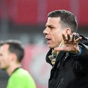Kriens-Trainer Bruno Berner (Bild: Claudio Thoma/Freshfocus (Winterthur, 5. April 2019))