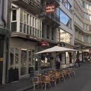 Die Cafeteria «Emilio» am Grendel 9. (Bild: hor)