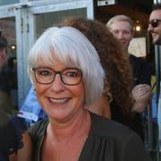 Gerda Akermann kommt aus Goldach. Manchmal arbeitet sie an einem Jahrmarktstand an der Olma.