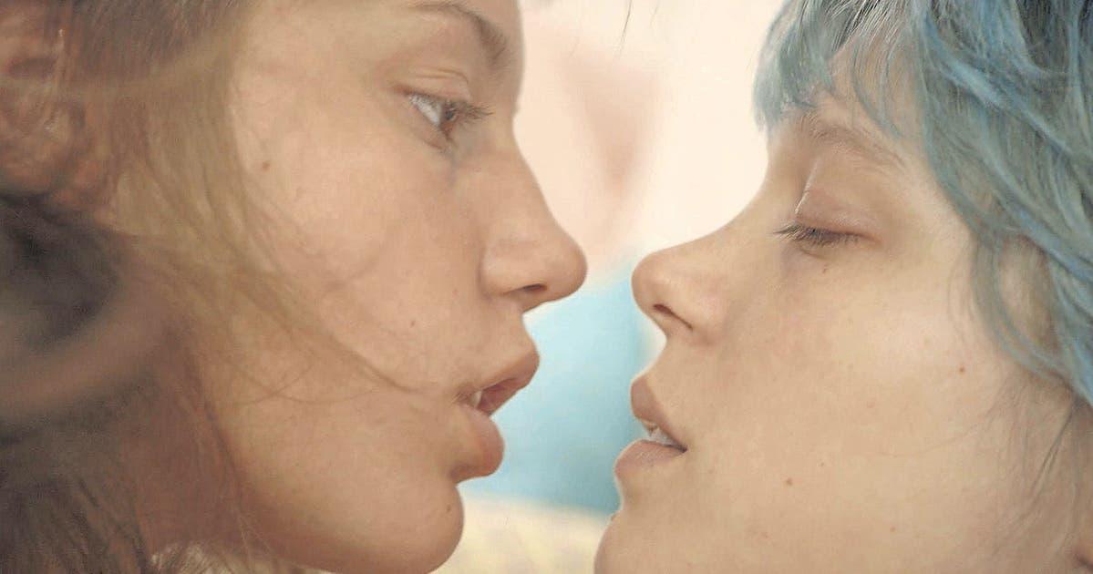 Skins lesbische Sexszene