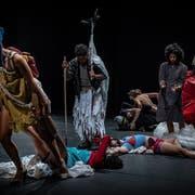 Die brasilianische Companhia de Danças könnte ihr in Zürich gezeigtes Stück «Furia» ohne ausländische Finanzspritzen nicht realisieren. (Bild: Sammi Landweer)