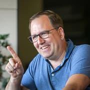 Roger Dietschweiler will mit dem EC Wil langfristig vorne mitspielen. (Bild: Michel Canonica)