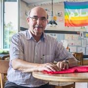 Karl Kohli, Präsident der Arbeitsgruppe für Asylsuchende Thurgau. (Bild: Andrea Stalder)
