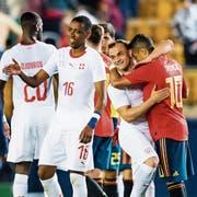 Der Schweizer Teamgeist ist bestens – auch deswegen vertraut Trainer Vladimir Petkovic seinem langjährigen Stamm. (Bild: Laurent Gillieron/KEY (Villarreal, 3. Juni 2018)