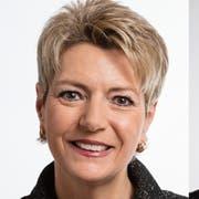 Die FDP-Bundesratskandidaten für die Nachfolge von Bundesrat Johann Schneider-Ammann (von links): Karin Keller-Sutter, Hans Wicki und Christian Amsler (Bilder: Keystone)