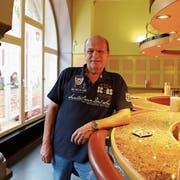 Vor zwölf Jahren eröffnete Reto Labhart die Münzhofbar: Am Freitag wirtet er erstmals im «Mariaberg». (Bild: Jolanda Riedener)