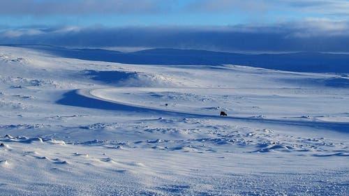 Unterwegs in der Unendlichkeit des hohen Nordens. (Bild: PD)
