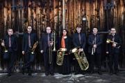 Die sieben Mitglieder des Lucerne Brass Ensembles. (Bild: PD)