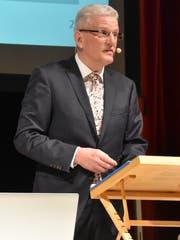 Karl Brändle, Gemeindepräsident von Bütschwil-Ganterschwil. (Bild: Anina Rütsche)