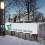 Der Universitätsrat hat gestern etwas Licht in die HSG-Spesenaffäre gebracht. (Bild: Urs Bucher (St.Gallen, 17. Januar 2019))