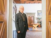 Marian Eleganti, Weihbischof des Bistums Chur. (Bild: Gaetan Bally / Keystone (Chur, 10. Januar 2013))