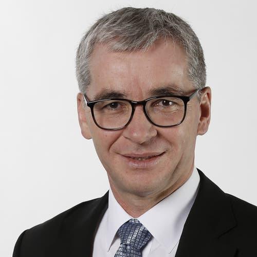 Obwaldner Ständerat Erich Ettlin, seit 2015, CVP, in stiller Wahl bestätigt