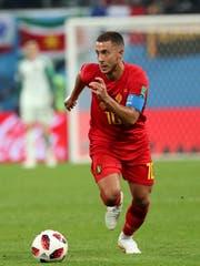 Eden Hazard, hier für Belgien an der WM: Bald in Madrid? Bild: Georgi Licovski/Keystone