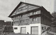 Das Haus an der Bogenstrasse in Oberhelfenschwil hat eine lange Geschichte hinter sich. (Bild: PD)